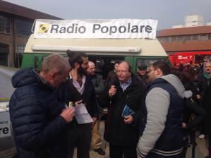 Andrea Molinari @ Radio Popolare presenting Radio On The Mind 2015