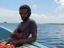 Andrea Molinari Broadcasting from Guatemala 2014